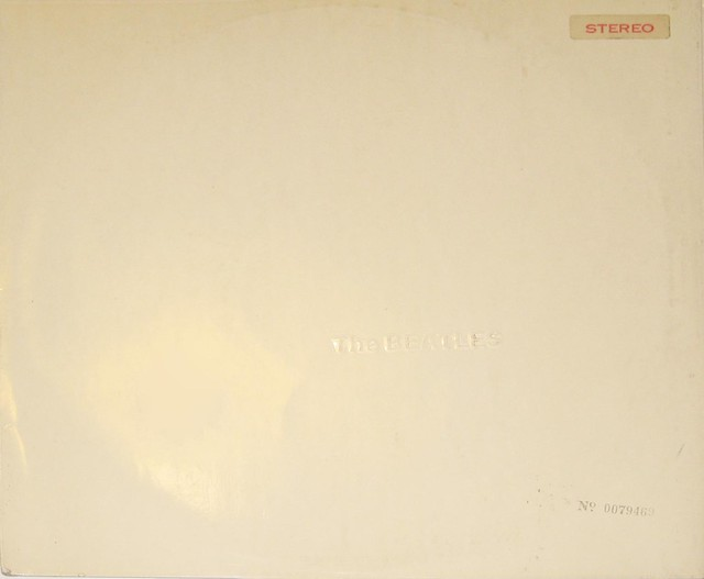 Beatles White Album UK PCS 7067 2LP