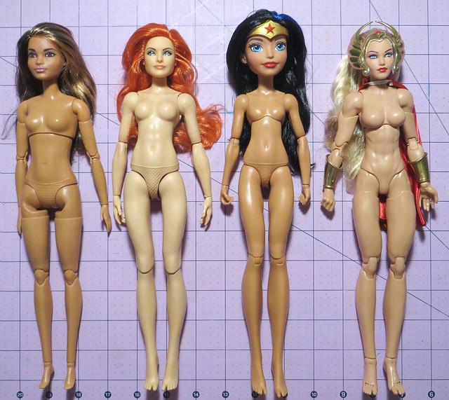 Buff Ladies Comparison