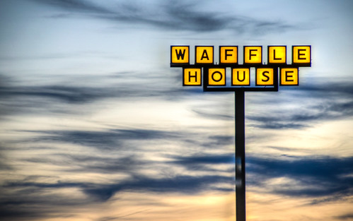 florida sunset floridasunset waffle house sign wafflehouse ellentonflorida ellentonfl roadside road