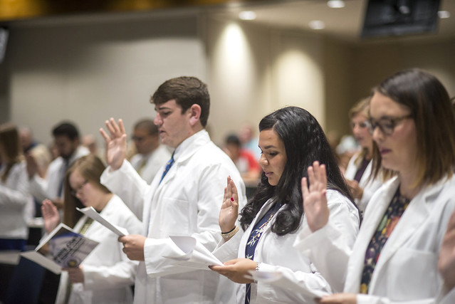 Class of 2021's White Coat and Honor Code Ceremony