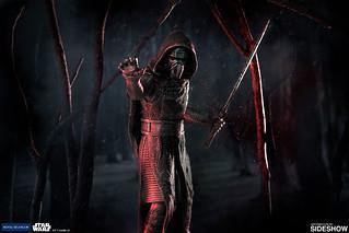 星戰史上最中二的反派?!Royal Selangor 星際大戰【凱羅·忍】 合金小雕像 Kylo Ren Figurine