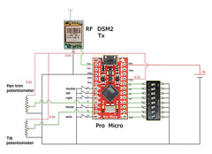 Arduino manual /auto diagram