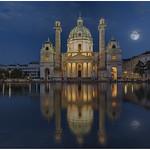 Full Moon @ Karlskirche