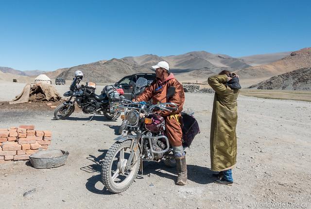 Mongolia Uglii to Khvod-12