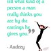 Celebrity Quotes : breakfast at tiffany's quotes - Google Images on we heart it / visual bookmark #...
