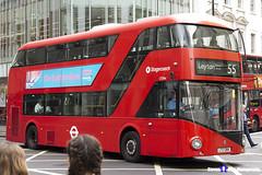 Wrightbus NRM NBFL - LTZ 1384 - LT384 - Leyton Bakers Arms 55 - Stagecoach - London 2017 - Steven Gray - IMG_1166