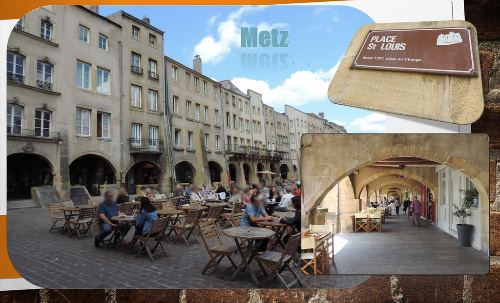 Metz map grand est france mapcarta for Metz code postal