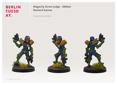 Megacity Street Judge / 2000ad / Warlord Games
