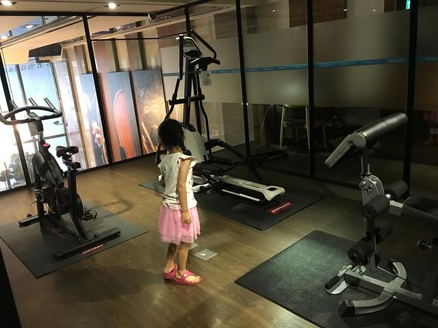 健身房@捷絲旅高雄中正館HAPE主題家庭遊戲房
