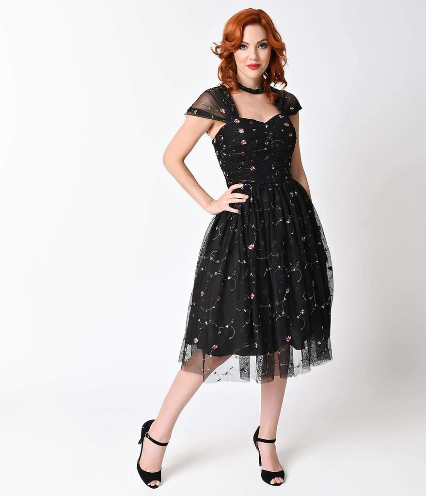 unique vintage cocktail dress