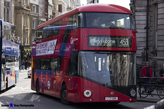 Wrightbus NRM NBFL - LTZ 1288 - LT288 - Marylebone 453 - Go Ahead London - London 2017 - Steven Gray - IMG_5933