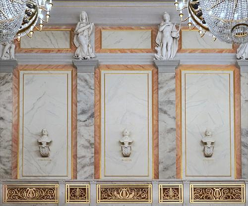 Décor de la salle du Konzerthaus de Berlin
