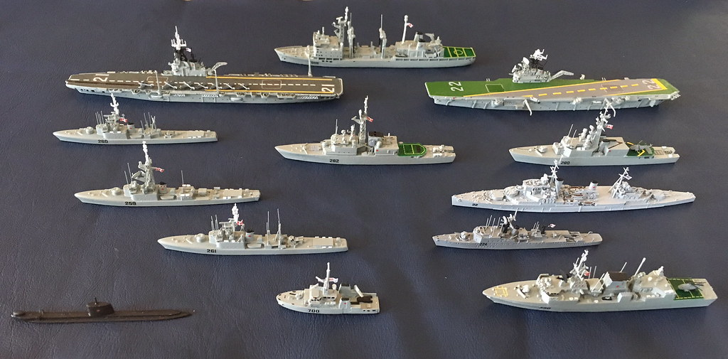 Canadian Navy Vessels
