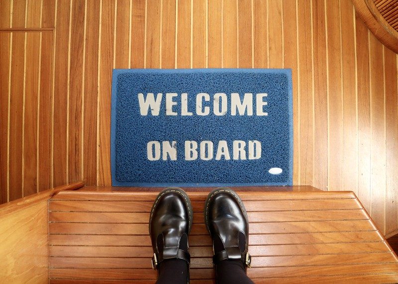 Welcome on board