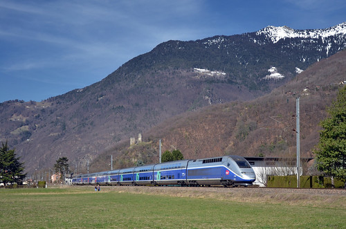 🇫🇷 TGV 6435 @ La Bâthie