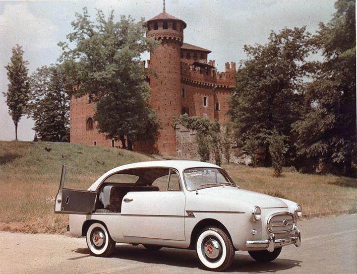 La Fiat 600 nell'interpretazione della carrozzeria Accossato (1956)