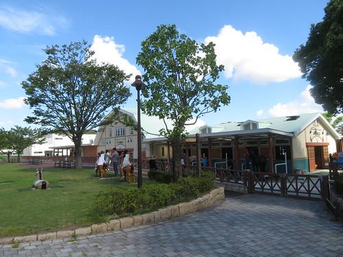 小倉競馬場の乗馬センター