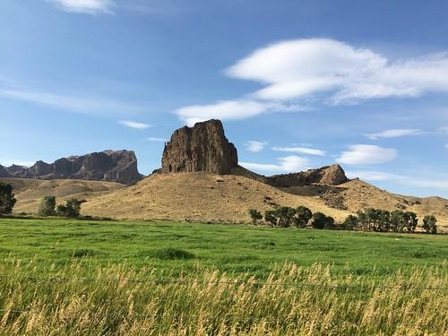 Cody Castle rock