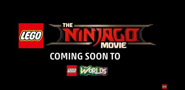 The LEGO Ninjago Movie w LEGO Worlds!
