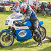 Lydden Hill August 2016 Paddock Triumph Trident Rob North No 157 001D