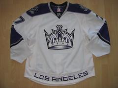 Los Angeles Kings 2009 - 2010 Game Worn Jersey
