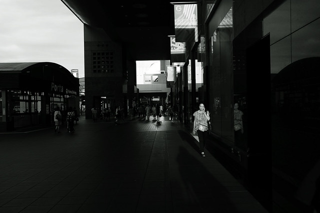 light&shadow@Kyoto station