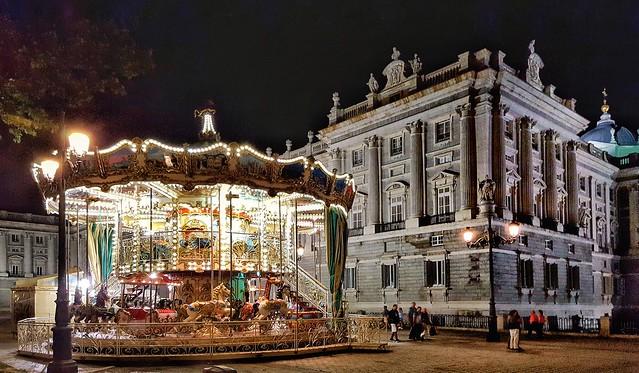 At the Royal Palace, Madrid