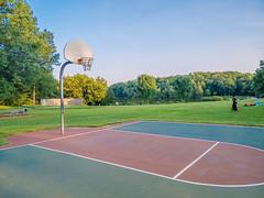 Empty court