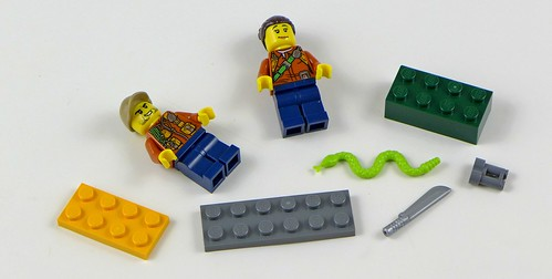 LEGO City Jungle Sekrety Dżungli 09