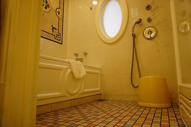 170915 東京ディズニーランドホテルタレットルーム風呂場