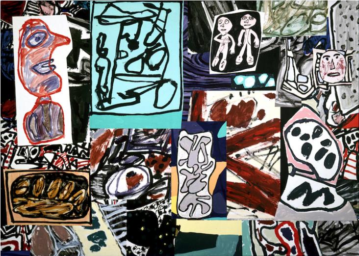 Jean Dubuffet Les données de l'instant, 1977