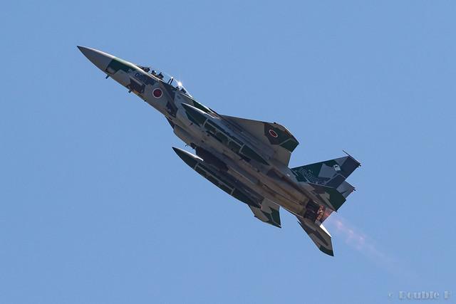 Komatsu AB Airshow Rehearsal 2017.9.14 (40) Aggressor F-15DJ #074