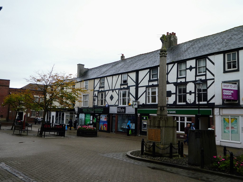 The market place, Poulton-Le-Fylde