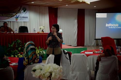 Pertemuan Bimbingan Teknis Penerapan Program dan Kebijakan Pelayanan Kefarmasian Didaerah Binaan Wilayah Provinsi Bengkulu