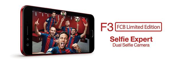 OPPO F3 FC Barcelona 2