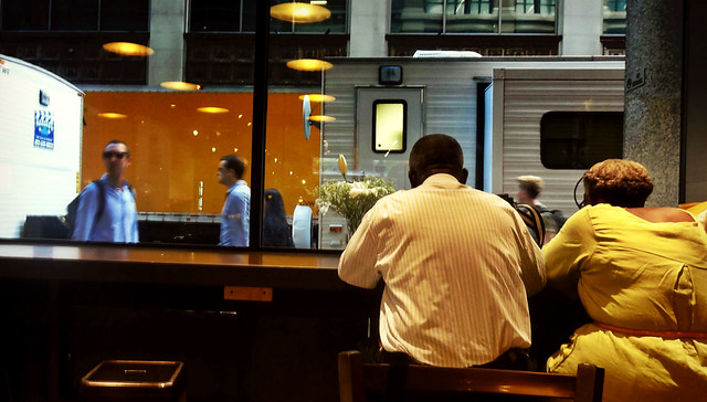 Cafe Window in Midtown
