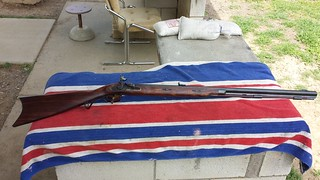 50 caliber flintlock Lyman Great Plains Rifle