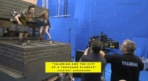 Valerian and the City of a Thousand Planets - backstage 3