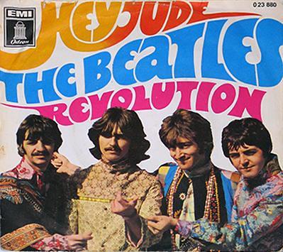 "Beatles Hey Jude 7"" PS Single"