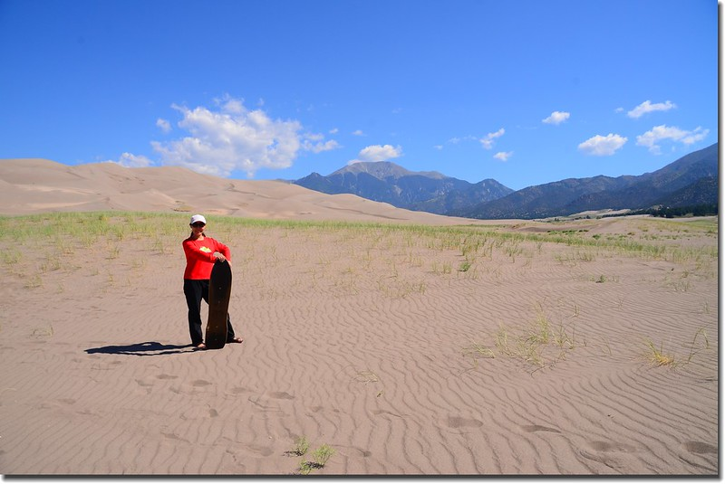 Sledding at Great Sand Dunes  (39)