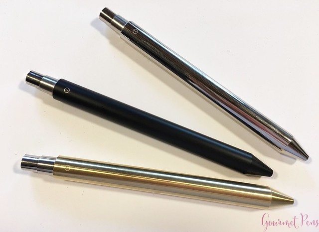 Review @InventeryCo Mechanical Pens - Brass, Chrome, Onyx 8