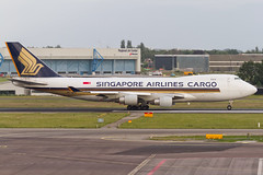 Singapore Airlines Cargo - Boeing 747-400F | AMS