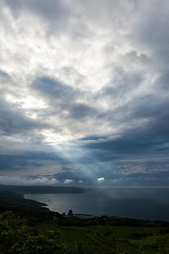 Slanting rays