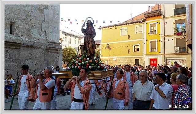 #BriviescaFiestas17 Procesión del Rosario  y Canto de la Salve (1)