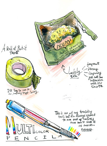 Sketchbook #105: Tools - Small Things