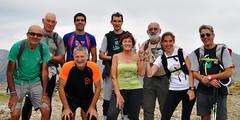 16. Santos, Iñaki, Roberto, Iñaki, Mikel, Juana, Manolo, Maider eta Javier.