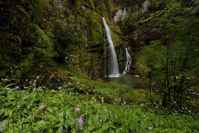Cascade dans les gorges, Canon EOS 760D, Canon EF-S 10-22mm f/3.5-4.5 USM