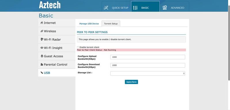 AIR 706P - Torrent Client