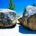 Small photo of Boulders with textures