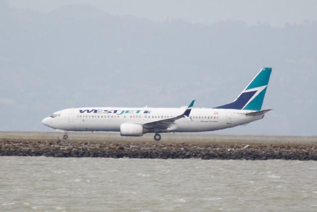 WestJet Boeing 737 -800 C-FKWJ DSC_0092